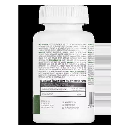 OstroVit Kofeina 200 mg 200 tabletek